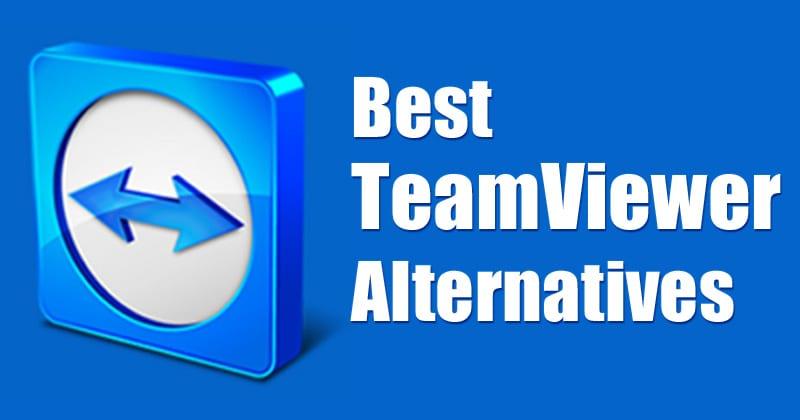 Remote Desktop Software - Teamviewer Alternatives